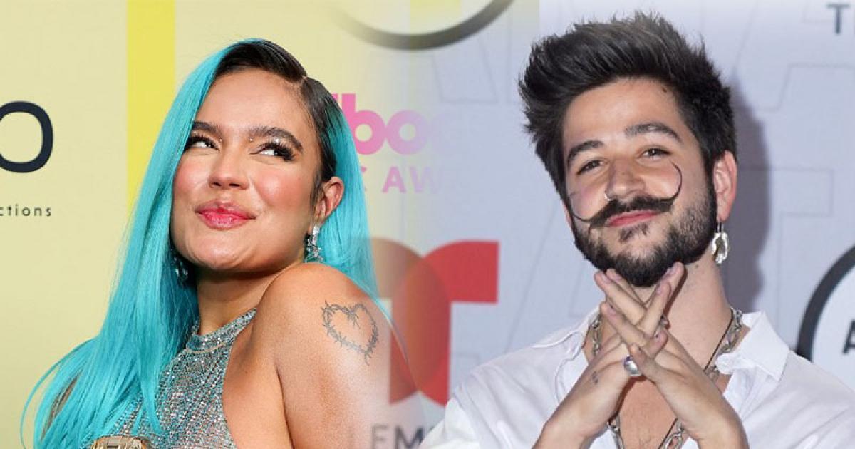 Camilo y Karol G encabezan nominaciones en los Premios Juventud